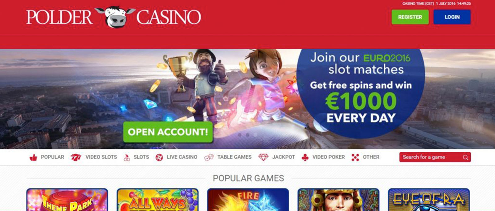 polder casino review